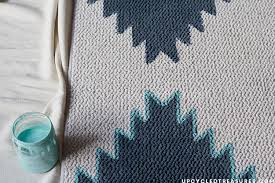 Aztec Design Rugs Diy Painted Rug Mountainmodernlife Com