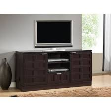 Tv Media Cabinets With Doors Living Room Furniture Tv Media Cabinets And Modern Espresso Pine