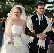 chelsea clinton wedding dress chelsea clinton wedding and groom chelsea