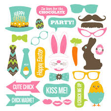 easter photo props easter photo booth props collection printable instant