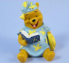 winnie the pooh cake topper winnie pooh reading cake topper winnie the pooh cake topper