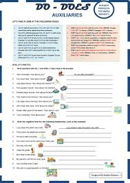Helping Verb Worksheets 268 Free Esl Auxiliary Verbs Worksheets