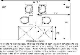 Bathroom Group Dwv Layout Help