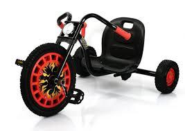 nerf battle racer hauck lightning pedal go kart race green toys