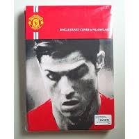 Man Utd Duvet Official Man Utd F C Cristiano Ronaldo Single Duvet Set 3 Lions