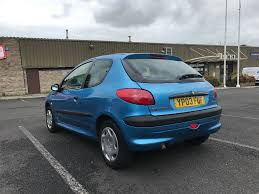 2003 peugeot 206 1 4 hdi style 3dr two previous owners long mot