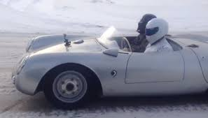 porsche 550 spyder the stig and darth vader getting coffee in a porsche 550 spyder