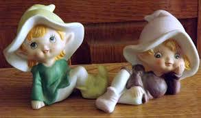 porcelain vietnam ethnic group collection miniature figurines minh 2 homco home interiors porcelain elves pixies figurines