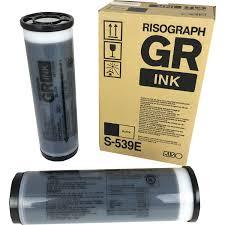 riso risograph gr black duplicator ink s 539e for 2700 2750 3750