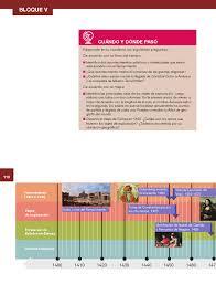 historia libro 5 grado 2016 2017 sexto historia14 bloque 5 panorama del periodo ubicación