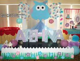 Owl Theme by Owl Theme Stage Decoration Using Styro At Choi City Cebu