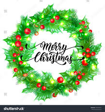 merry christmas holiday hand drawn quote stock vector 760040953