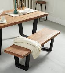 Industrial Style Bench Dining Room And Kitchen Tables Chairs And Benches Dennest