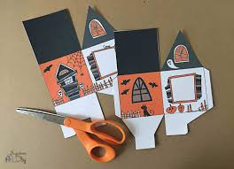Halloween Haunted House Cake Halloween Haunted House Treat Box Bugaboocity