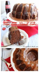 chocolate coca cola bundt cake by delightfulemade com
