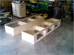 Bed Frame Plans With Drawers Furniture Marvelous Underbed Inspirations With Awesome Build A