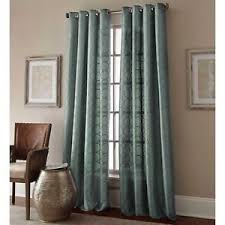 95 Inch Curtain Panels Manhattan 95 Inch Grommet Top Embroidered Window Curtain Panel In