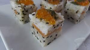 cours de cuisine 974 recette de rice cube saumon fumé