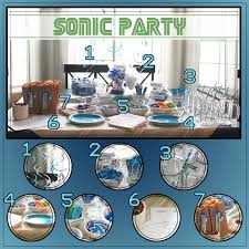 sonic party supplies snippets of design it s a sonic party