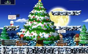 Decorate The Christmas Tree Maplestory by That New Hair