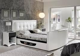 How Big Should Tv Be For Living Room The Bowburn Super King Size Tv Bed Is The Ultimate In Bedroom