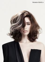 hairstyles with grey streaks фото 1219 пышные волосы красота pinterest textured bob