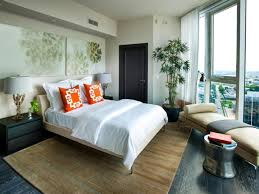 Decorate Guest Bedroom - beige wall paint and wooden floor plans for modern guest bedroom