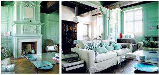Mint Home Decor Interior Wonderful Mint Green Living Room Wall Color With