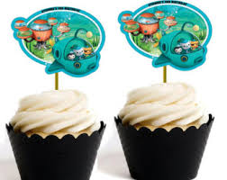 octonauts cake toppers octonauts cake topper etsy