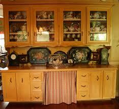 secret storage behind country kitchen skirt cedar hill farmhouse