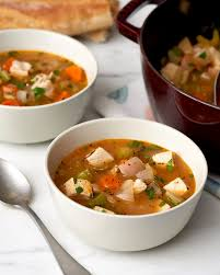 recipe post thanksgiving turkey vegetable soup kitchn