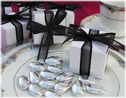 black tie party favors black tie party ideas white favor box with black bow tie this is