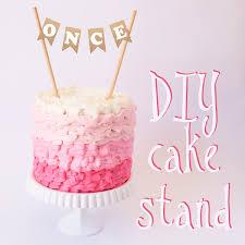 small cake stand diy cake stand todóloga