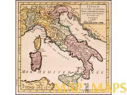 Corsica Map Italy Antique Map Gilles Robert De Vaugondy Mapandmaps