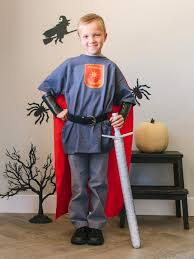 kid u0027s halloween costume brave knight hgtv