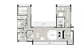 Free House Plans With Pictures House Free Plan U Shaped House Plans With Courtyard U Shaped