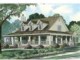 country house plans wrap around porch eplans farmhouse house plan wraparound front porch 2039 square