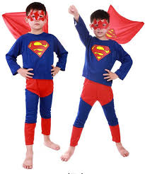 discount costumes free shipping discount christmas superman costumes for kids