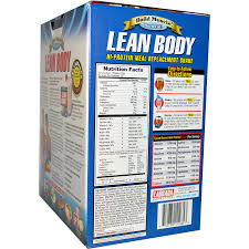 labrada nutrition lean body hi protein meal replacement shake