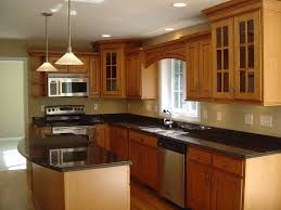 Yellow And Brown Kitchen Ideas Traditional Kitchen Designs Wooden Floor Wooden Varnish Islands