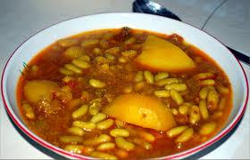 cuisiner des flageolets secs flageolet au boeuf en sauce loubia grini http