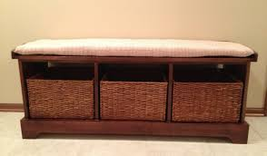 Pottery Barn Entryway Bench And Shelf Laudable Impression Munggah Awesome Duwur Ravishing Isoh
