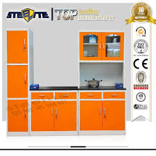 Kitchen Cabinets Sets For Sale by Factory Sale Dubai Steel Whole Kitchen Cabinet Set Metal Kitchen
