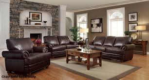 Dark Brown Leather Chairs Living Room Ideas With Dark Brown Leather Sofas Sofa Hpricot Com