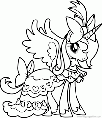 free printable pony coloring pages kids