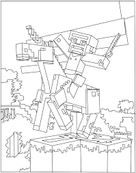minecraft coloring pages unicorn unicorn omalovánky pinterest unicorns and craft