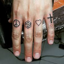 64 bold different unusual finger summer tattoo ideas summer