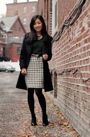 Wool Skirts For Winter Winter Work To Weekend Thick Pine U0026 Wool Squares Wool Skirts