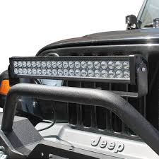 jeep light bar grill amazon com e autogrilles front bumper pre runner 20