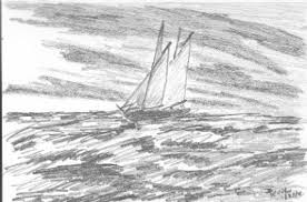 sketch 23 stormy seas my sketch for today 4 x 6 sketchb u2026 flickr